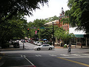 Athens, Georgia - Clayton Street Intersection