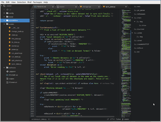Atom (text editor) - Image: Atom editor