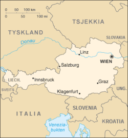 sveits østerrike kart Østerrikes geografi – Wikipedia sveits østerrike kart