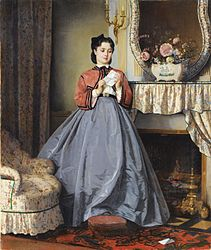 Auguste Toulmouche - The Love Letter, 1863.jpg