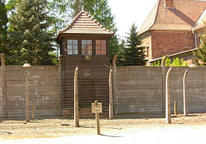 English: Auschwitz I concentration camp