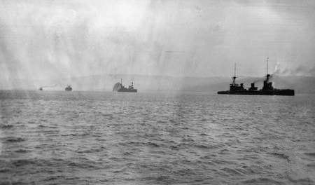 Aust fleet Rabaul (AWM J03326)