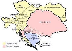 Location of Tyrol