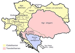 History of South Tyrol - Austria-Hungary in 1914