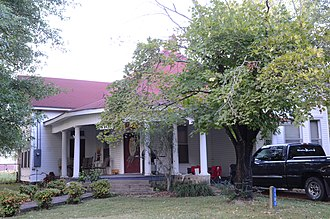 Pangburn, Arkansas - The Avanell Wright House in Pangburn is listed on the National Register of Historic Places