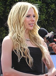 Avril během rozhovoru na konci roku 2006