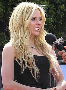 Avril Lavigne en la presentació d'Over the Hedge (2006)