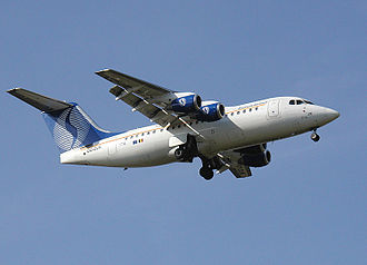 SN Brussels Airlines - Image: Avro.rj 85.arp.750pix