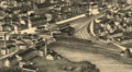 Ayer station on 1885 aerial map.PNG