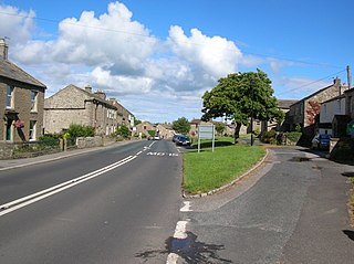 Aysgarth Village and civil parish in North Yorkshire, England