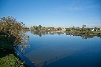Azay-sur-Cher - The Cher river in Azay-sur-Cher