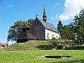 Běleč (KL), kostel svatého Mikuláše se zvonicí (01).jpg