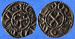 B29 denier de Conan III, duc de Bretagne (18964049549).jpg