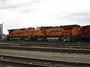 Great Western Railway (Saskatchewan) - Image: B40 8WMoose Jaw 386