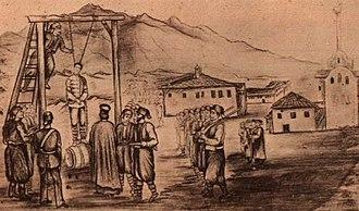 Bulgarian National Revival - Execution of Vasil Levski in 1873