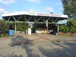 Dortmund-Dorstfeld station railway station in Dortmund, Germany