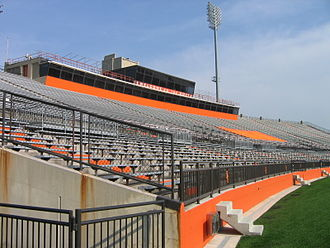 Bowling Green–Toledo football rivalry - Doyt Perry Stadium, home to the Falcons since 1966