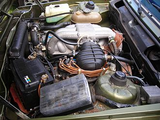 BMW M20 - Early M20 engine with K-Jetronic