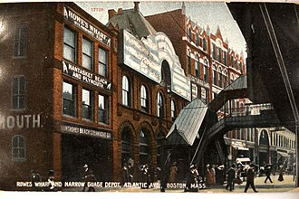 Atlantic Avenue (Boston) - Atlantic Ave., 1909