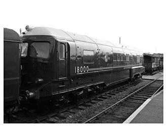 British Rail 18000 - British Rail 18000 at Barrow Hill in 2009