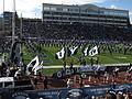 BYU Entering Field, Nevada Wolf Pack vs. Brigham Young Cougars, Mackay Stadium, University of Nevada, Reno, Nevada (11142288703).jpg