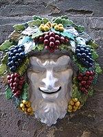 O vilão d'Os Lusíadas. Representação de Baco, o deus inimigo dos portugueses.