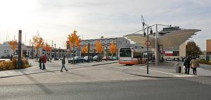 Limburg (Lahn) station - Station forecourt