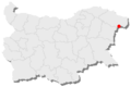 Balchik location in Bulgaria.png