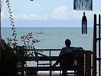 Balcony Scene at Sukkasem Guesthouse - Hua Hin - Thailand (34513751270).jpg