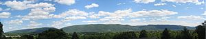 Bald Eagle Mountain - Image: Bald Eagle Mountain Panorama