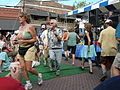 Ballard Seafood Fest 2007 - conga line 01.jpg
