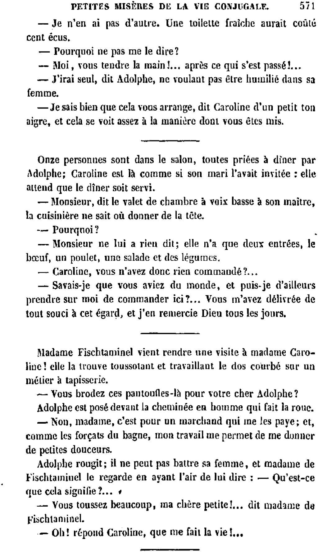 Page balzac uvres compl tes d houssiaux 1855 tome - Qu est ce que la tapisserie de bayeux ...