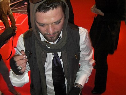 Bam Margera at the Jackass 3D London premiere in 2010. Bam Margera Jackass 3D London Premiere 2.jpg