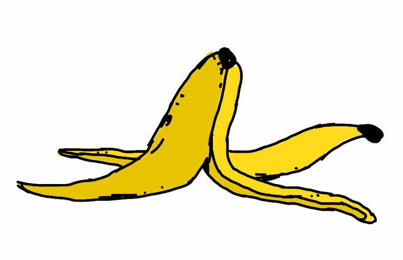 peeled banana coloring pages - photo#35