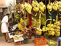 Bananas for Sale at Market - Trivandrum - Kerala - India.JPG