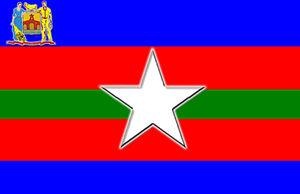 Alberto Adriani Municipality - Image: Bandera el vigia