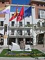 Banderas en la Plaza Mayor.JPG
