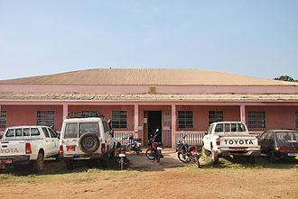 Non-specific effect of vaccines - The Bandim Health Project Office built in 2008.