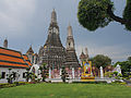 Bangkok along the Chao Phraya and Wat Arun (14881755087).jpg