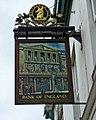 Bank of England pub sign, 103 Pollard Street - geograph.org.uk - 1843502.jpg