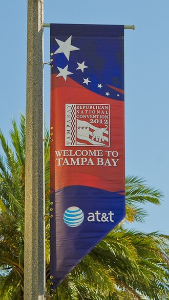 2012 Republican National Convention - RNC banner in Tampa