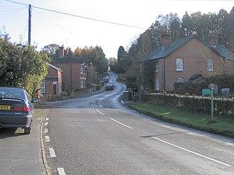 Dunbridge - Image: Barley Hill, Dunbridge geograph.org.uk 617058