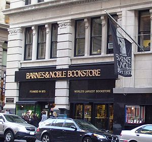 Barnes & Noble - Image: Barnes & Noble Fifth Ave flagship