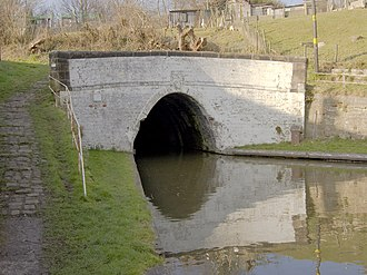 Trent and Mersey Canal - Image: Barnton tunnel east entrance
