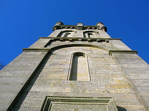 Wallace's Monument, Ayrshire - Detail of Wallace's Tower
