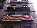 Barri de Gracia. Barcelona. Catalonian Flags. - panoramio (2).jpg