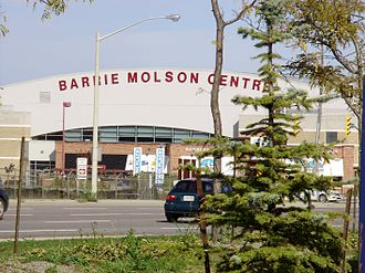 Barrie Molson Centre - Image: Barrie Molson Centre