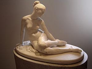 Lorenzo Bartolini - Nymph and the Scorpion Louvre, Hermitage