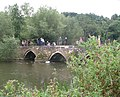 Barton Park Packhorse Bridge - geograph.org.uk - 942621.jpg