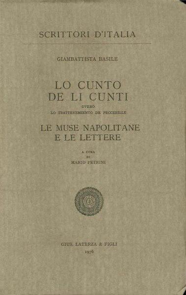 File:Basile, Giambattista– Lo cunto de li cunti, 1976 – BEIC 1751539.pdf